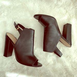 Aldo | Black Open Toe Heel | Size: 9